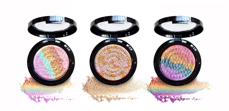 rainbow makeup highlighter blush illuminator