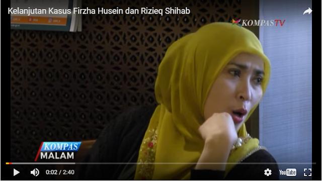 Ini Kelanjutan Kasus Firza Husein dan Rizieq Shihab terkait Konten Pornografi