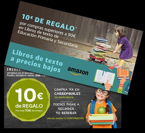 ... cada centro comercial y página web realizan promociones durante el  verano para asegurarse de que les compres a ellos la totalidad de los libros  de texto ... 793a8a8422865