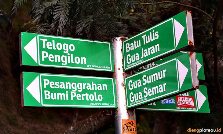 obyek wisata lainnya di taman wisata alam telogo warno dan pengilon dieng