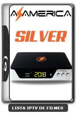 Azamerica Silver HD Nova Atualização Melhorias no sistema IKS e SKS 61w, 63w, 67w e 107w V1.34 - 09-06-2020