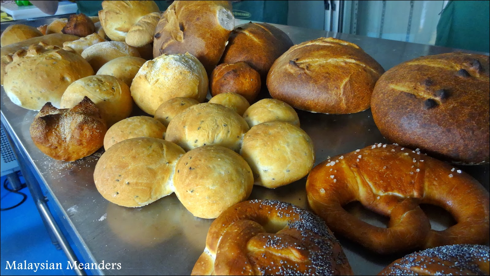 Irrawaddy Fine Foods, bread baking class, Penang