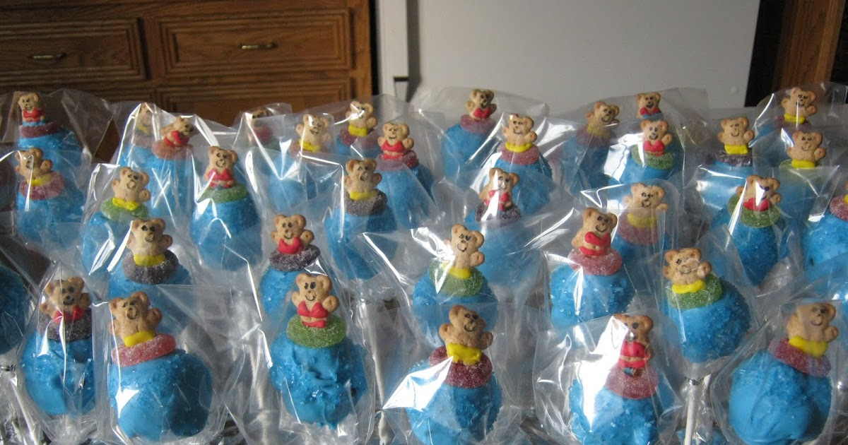 Holy Hannah S Pool Party Cake Pops