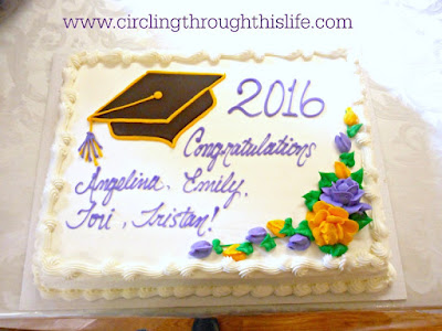 Graduation Cake with our church!