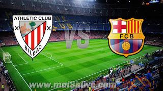 مشاهدة مباراة برشلونة وأتلتيك بلباو بث مباشر بتاريخ اليوم 18-03-2018 الدوري الاسباني