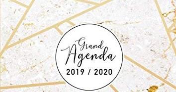 Calendario Mr Wonderful 2019 Para Imprimir.The Best Grand Agenda 2019 2020 Agenda Vertical Semaine Aoa T 2019 A Da C Cembre 2020 17 Mois