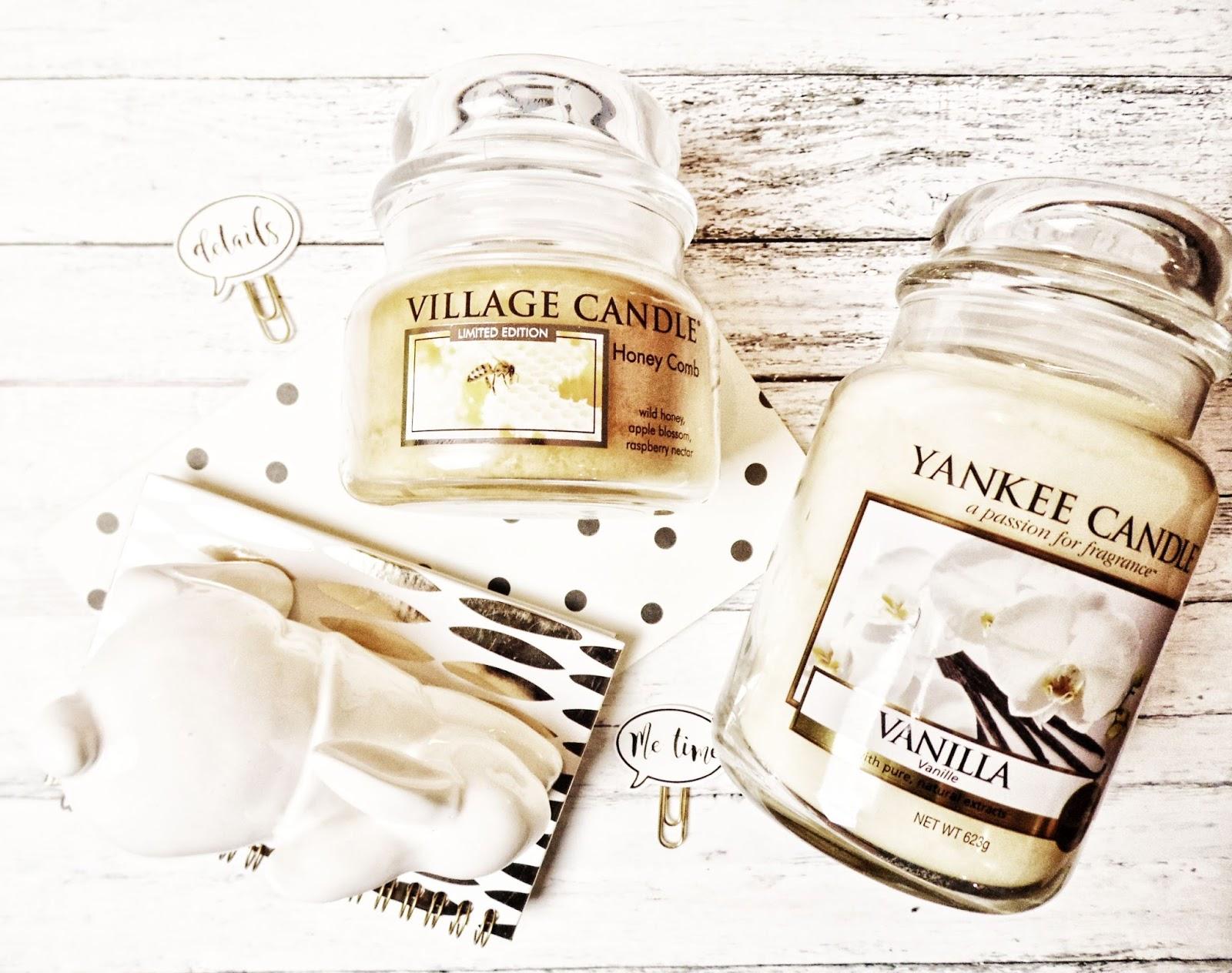 wiosna dekoracje dziennik świecoholika świece zapachowe village candle yankee candle