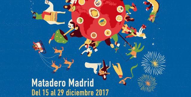 Feria internacional del las culturas la Navideña en el Matadero de Madrid