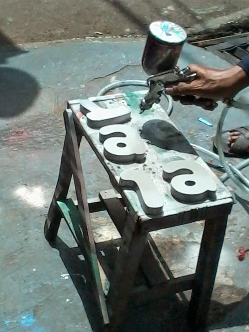 pembuatan Huruf Timbul Letter LED jakarta Murah