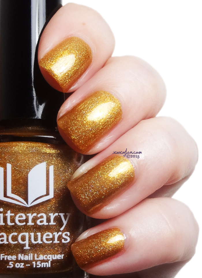 xoxoJen's swatch of Literary Lacquers My Favorite Day