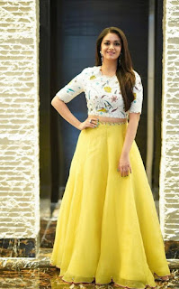 Keerthy Suresh Picture shoot In Yellow Lehenga Choli (3)
