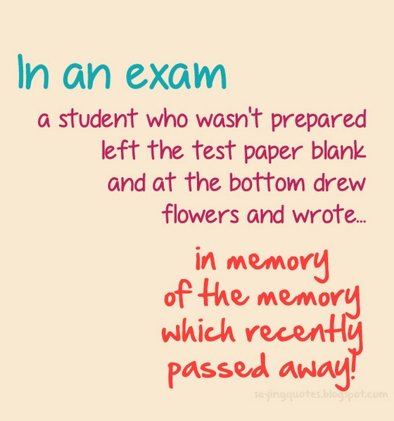 Motivational Test Quotes For Students: Examination Quotes For Students. QuotesGram