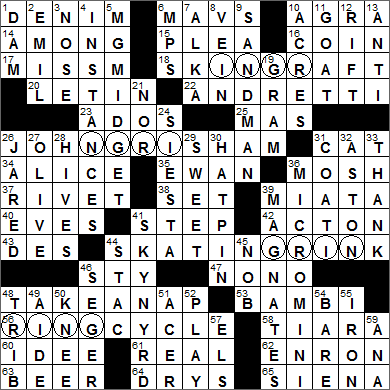 Web S L A Times Crossword Solution Laxcrossword Com Page 3 Chan 61497873 Rssing Com Then please submit it to us so we can make the clue database even better! web s l a times crossword solution