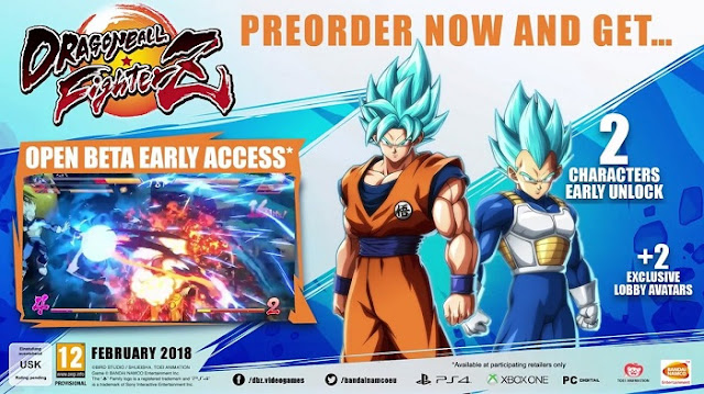 Dragon Ball Fighterz Pre Order Bonus