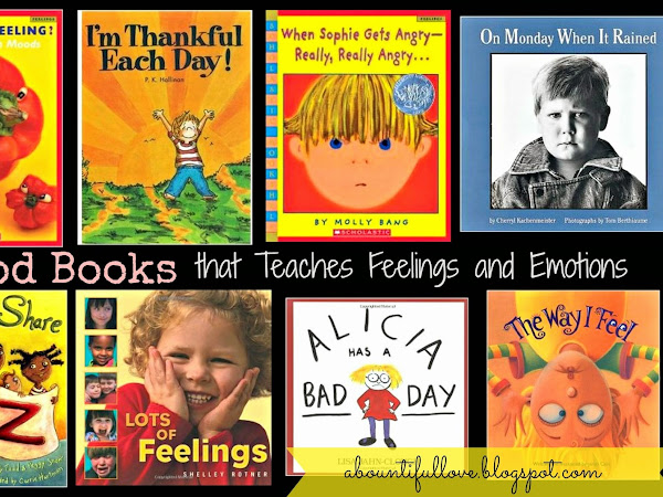 8 Good Books that Teaches Feelings and Emotions