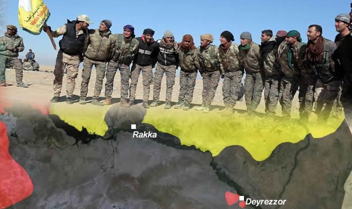 DSG QSD Rakka Operasyonu YPG YPJ IŞİD DAEŞ