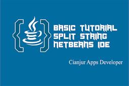 Belajar Menggunakan Fungsi split String pada Java