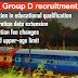 RRB Gr. D Recruitment 2018 - 62,907 Vacancies for Various Department