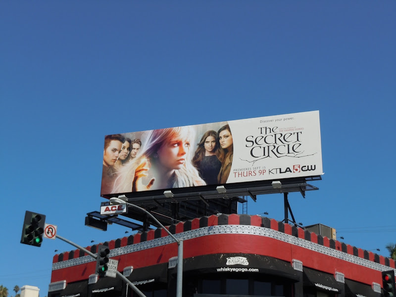 The Secret Circle billboard