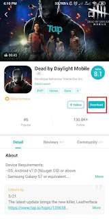 Cara Bermain Dead by Daylight Mobile di Android