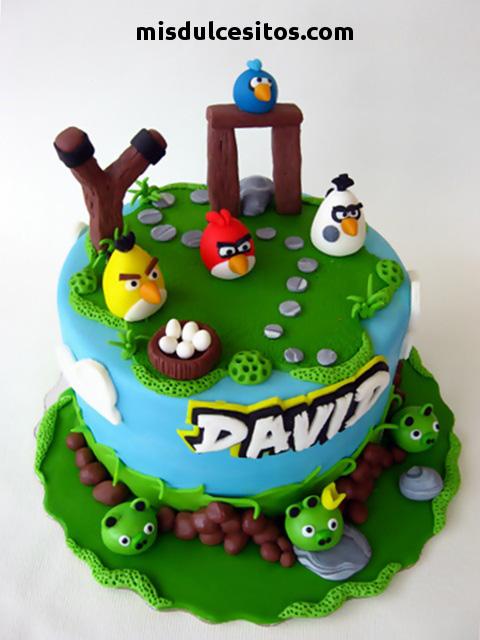 Tortas Angry Birds. Venta de tortas para cumpleaños infantiles en Lima, Los Olivos, Independencia, El Agustino, San Juan de Lurigancho