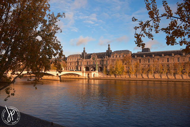river seine, trees, bridge, architecture
