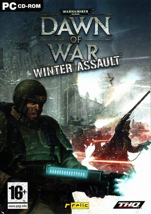 Warhammer 40000 Dawn of War Winter Assault Download Cover Free Game