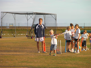 portsmouth cricket club ground kids session