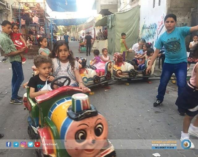 #صور: أجواء ثاني ايام عيد الفطر السعيد في قطاع غزة.