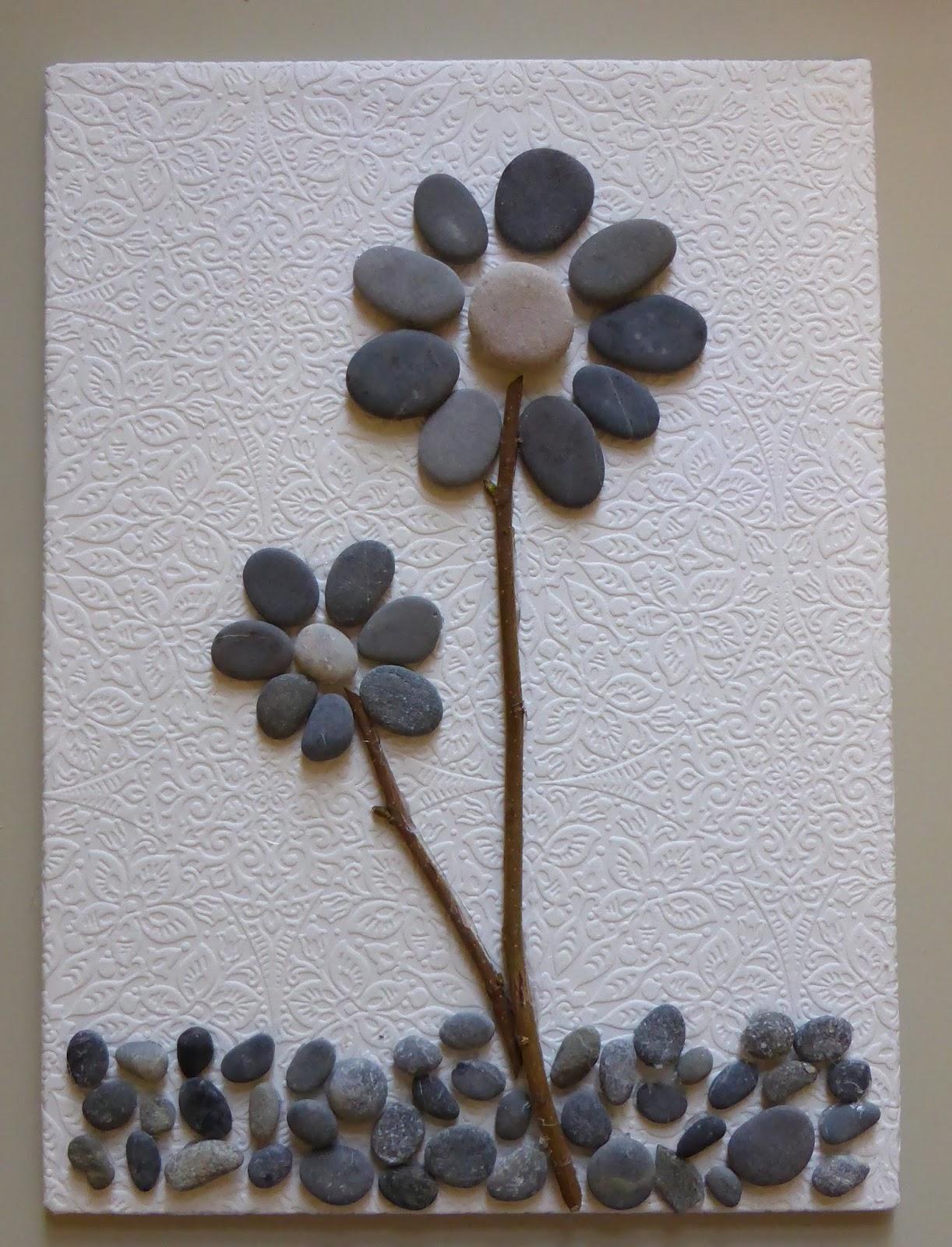 Faire Un Tableau Avec Des Galets longchamp bricole: tableaux avec des cailloux et petits