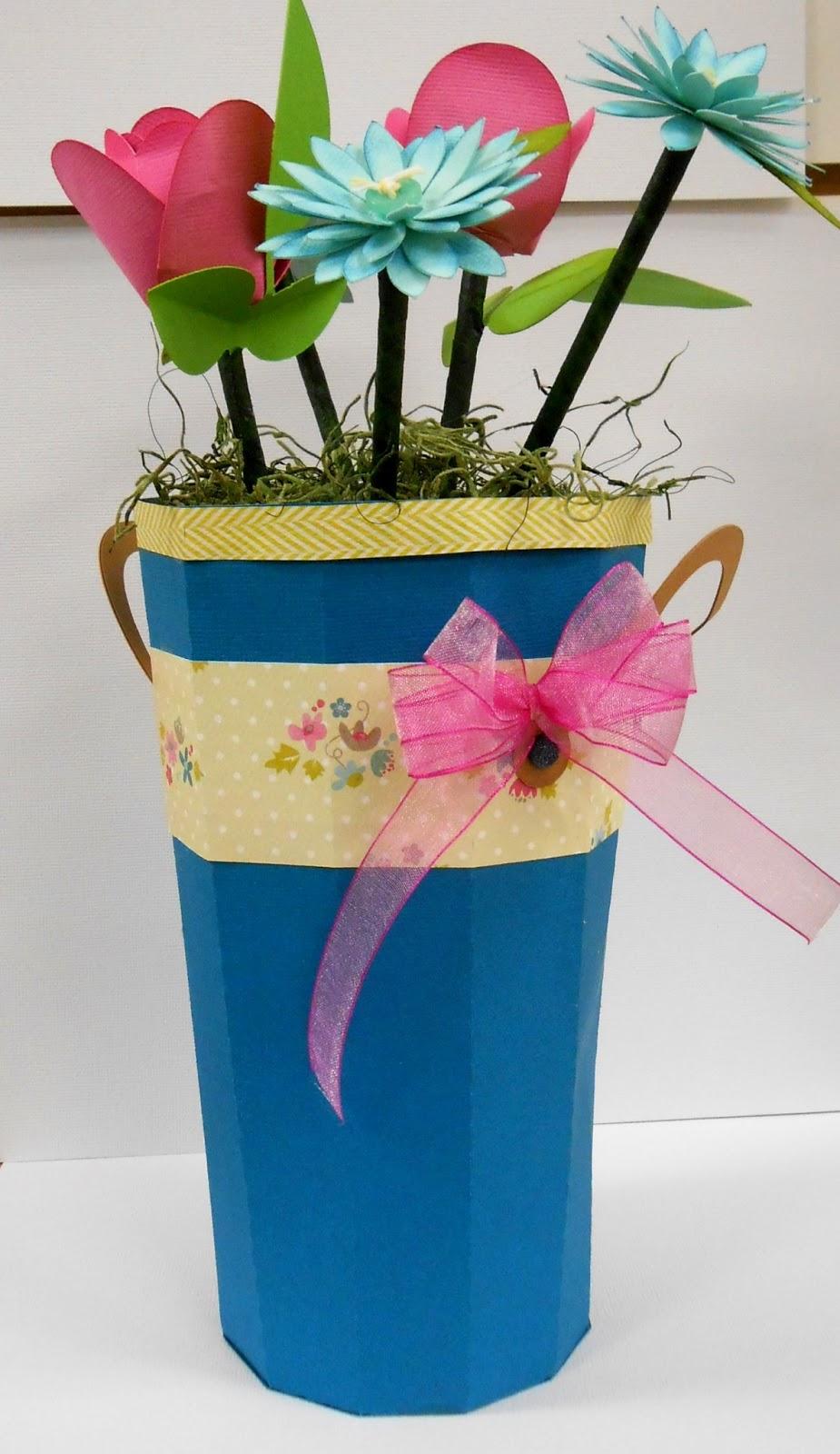 Birthday Bucket Of Flowersby Melissa Cash 11