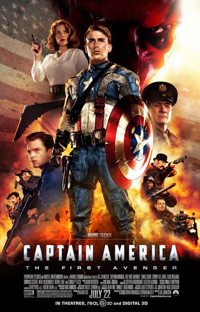 captain america first avenger poster