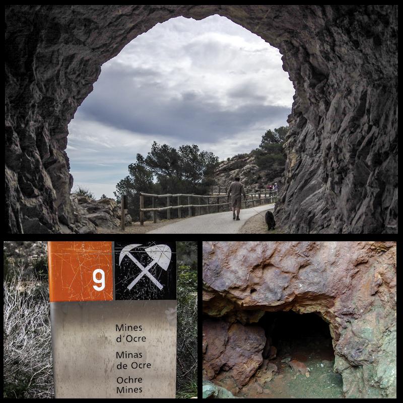 Serra Gelada: Tunel y minas de ocre