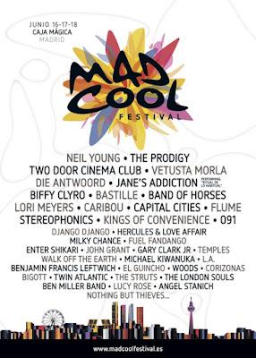 Mad cool madrid festival