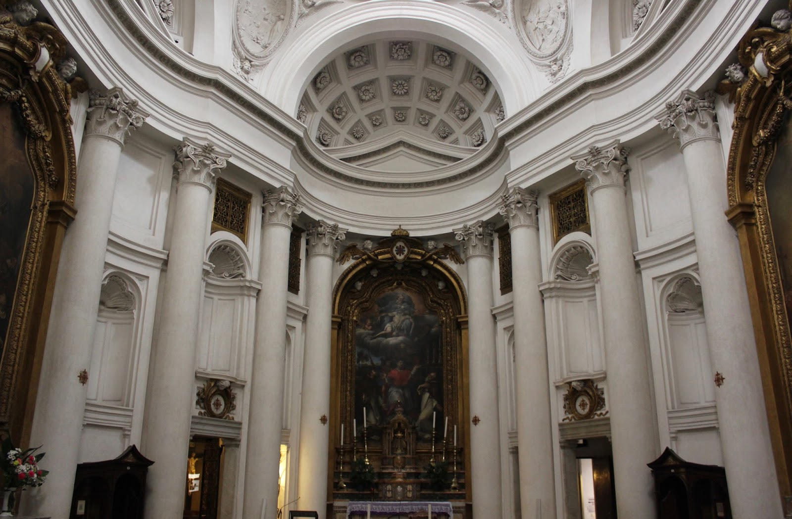 The Roman Anglican: Baroque Wonder: San Carlo alle Quattro ...