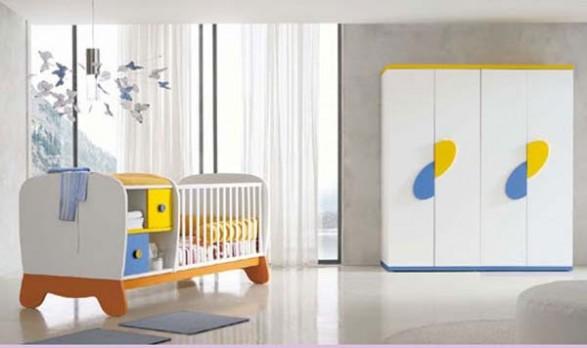 Diseño de Dormitorio de Bebe y Niños que crecen   Infantil Decora