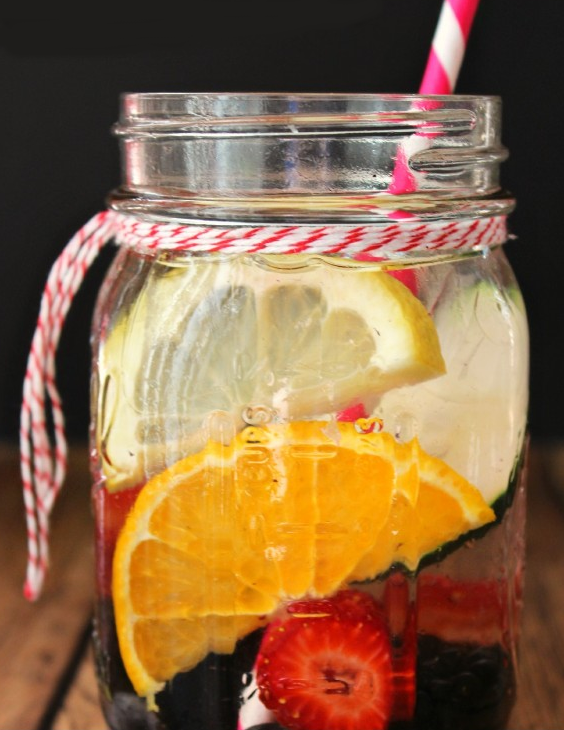 Energy Boost Detox Water