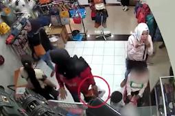 HEBOH Kelompok Emak-Emak Pencuri Tas Libatkan Anak Kecil Dalam Menjalankan Aksinya