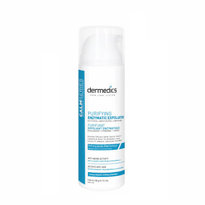 Dermedics calm series scrub free facial enzyme cleanser