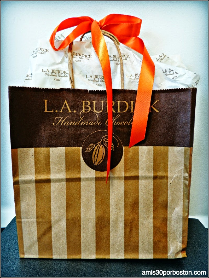 Chocolate de L.A Burdick