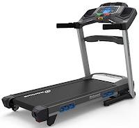 Nautilus T618 Treadmill, Performance Series range, with 3.5 chp motor, 0-12 mph speeds, 0-15% motorized incline