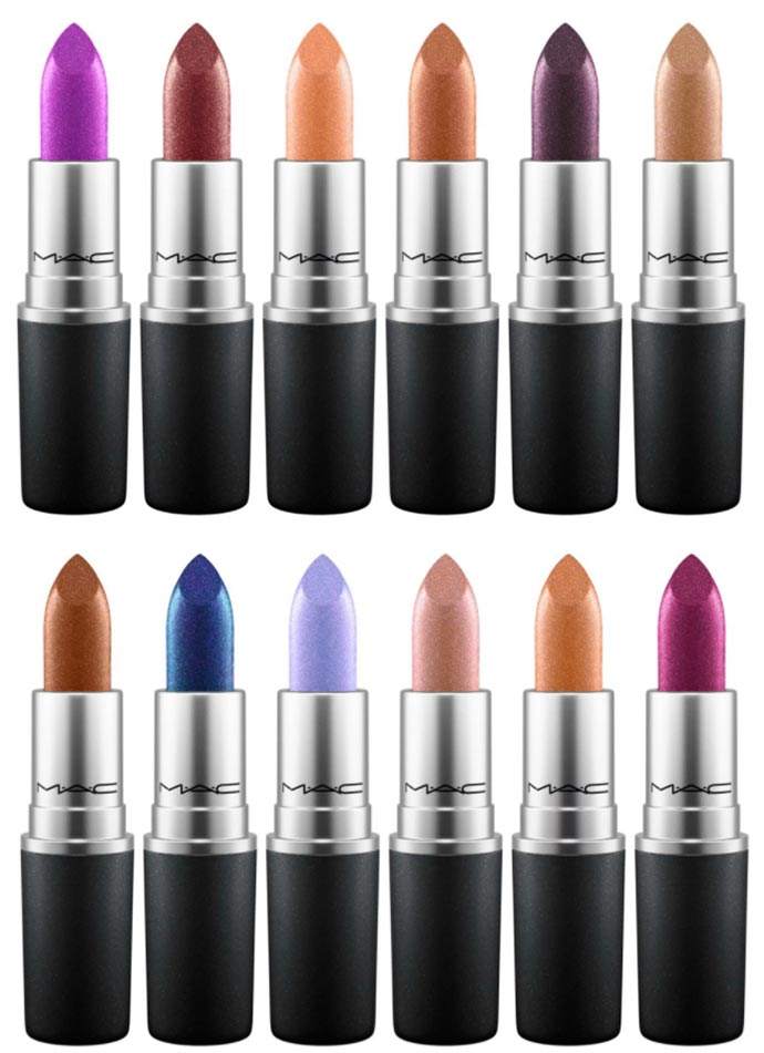 MAC Metallic Lips Collection 2017