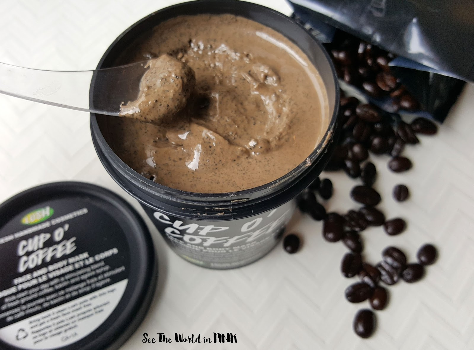 Earth Day Skincare Saturday - Lush Cup O' Coffee Mask Review and A Look At Lush's Environmental Practices!
