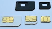 Cambiare o tagliare la SIM-card per iPhone o come Micro-SIM