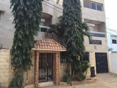 Gambia's embassy in Senegal's capital Dakar