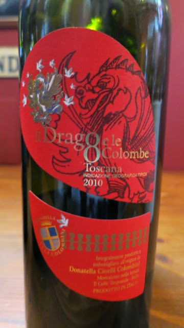 2010 Donatella Cinelli Colombini Il Drago e le 8 Colombe from IGT Toscana, Italy (90+ pts)