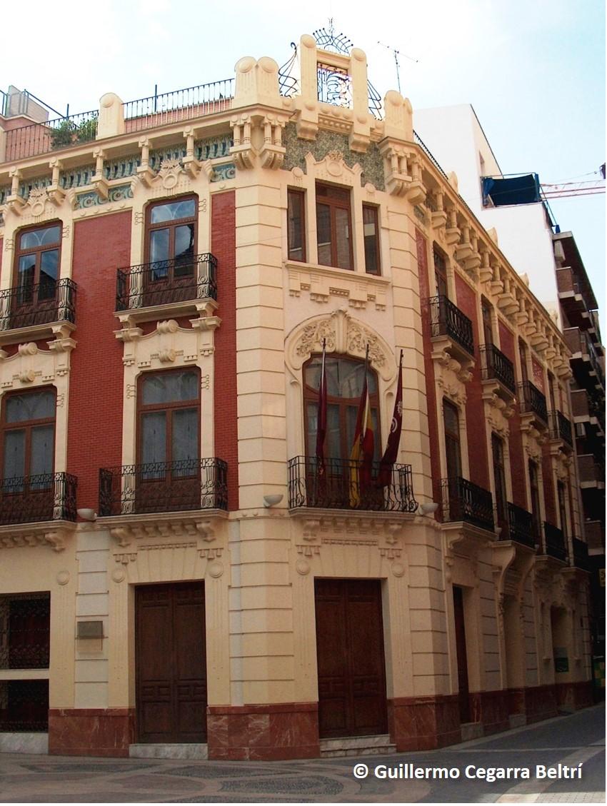 Modernismo y art d co en la regi n de murcia 81 casa de - Casas en almansa ...