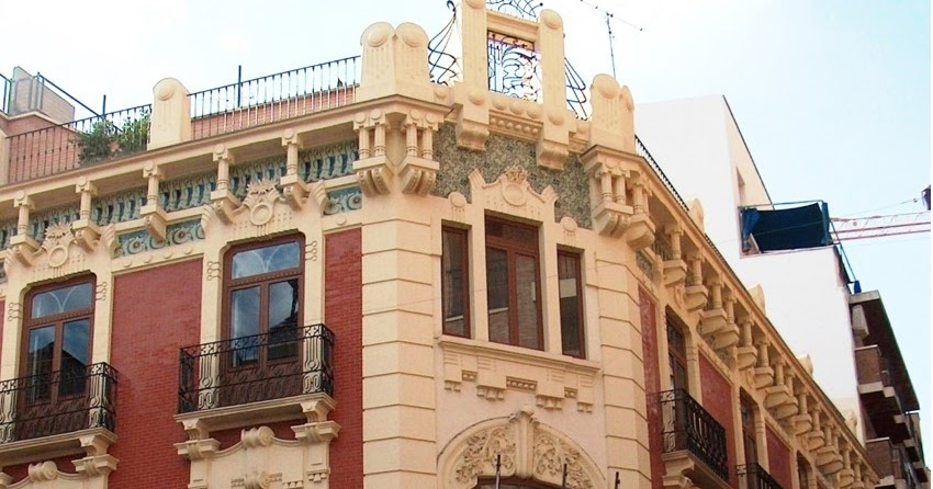 Modernismo y art d co en la regi n de murcia 80 casa de - Casas en almansa ...