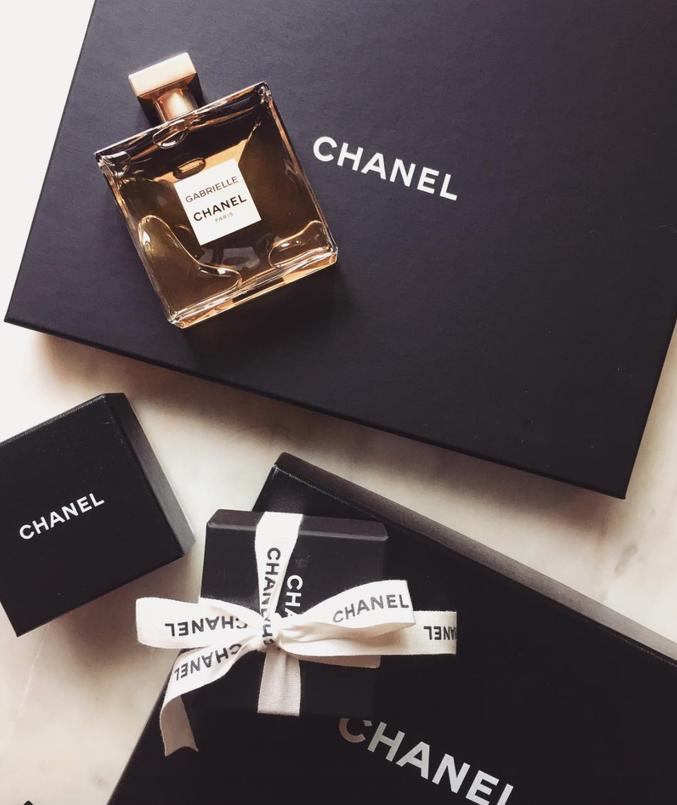 Chanel Gabrielle fragrance christmas present