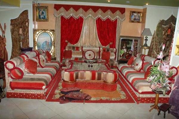 Salons du Maroc et Décoration orientale: Le choix d\'un salon ...